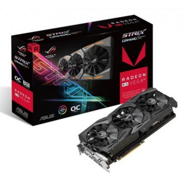 Asus Strix RX VEGA56 OC edition 8GB RGB GAMING GRAPHICS CARD