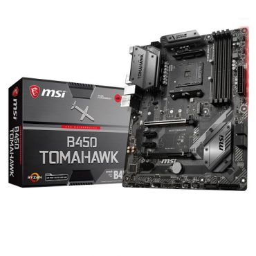 MSI B450 Tomahawk Socket AM4 AMD Ryzen Motherboard