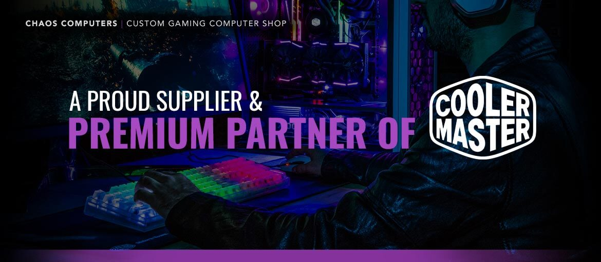 A Proud Supplier & Premium Partner of CoolerMaster