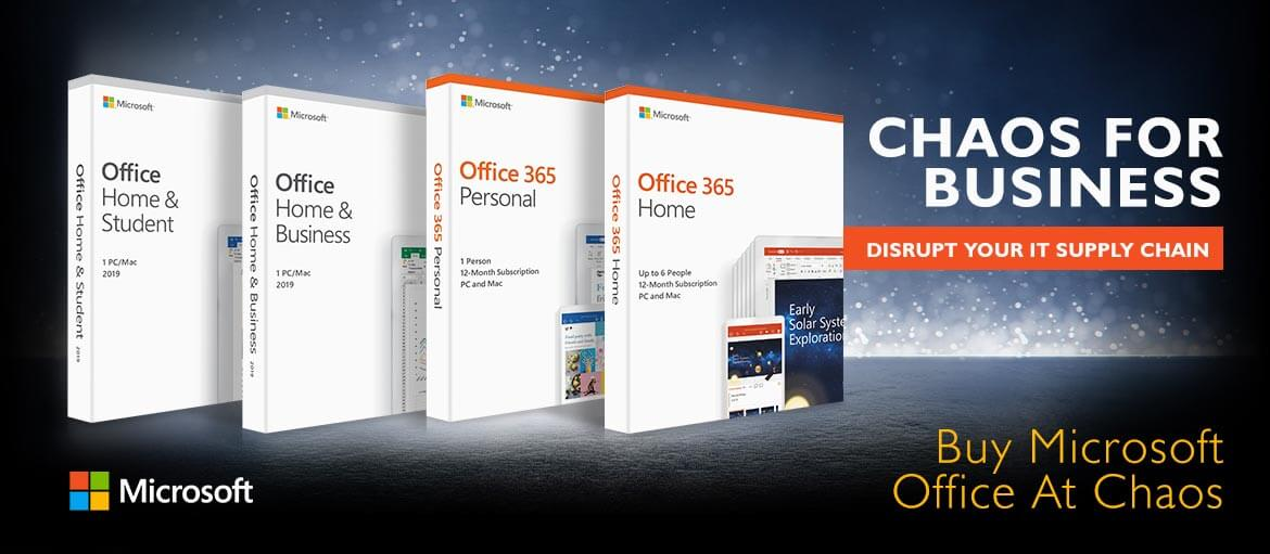Chaos for Business - Buy Microsoft Office at Chaos