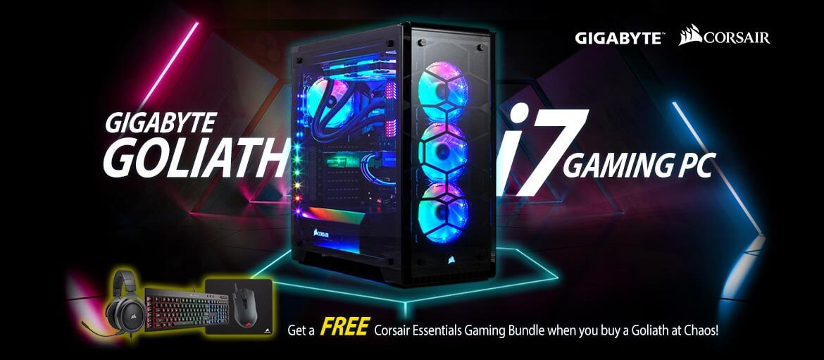 Gigabyte Goliath i7 Gaming PC