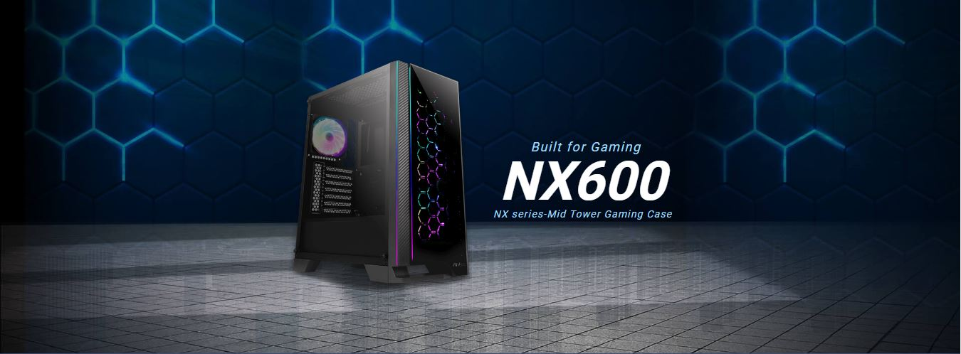 Antec NX600 Case in stock at Chaos Computers